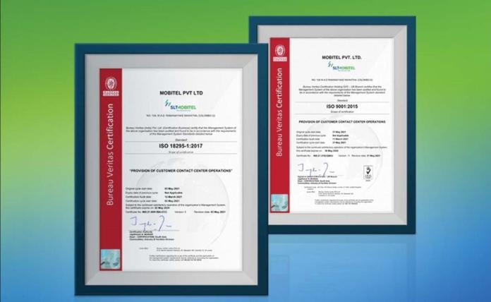 SLT-MOBITEL Customer Contact Centre, first in Asia to receive ISO  18295-1:2017 Certification - LankaTalks