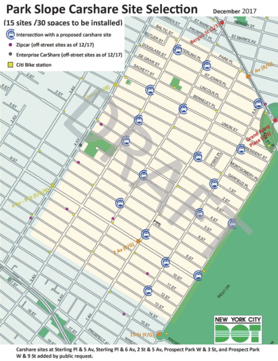 Carroll GardensCobble Hill Residents Express Frustrations Over - Alternate side parking nyc map