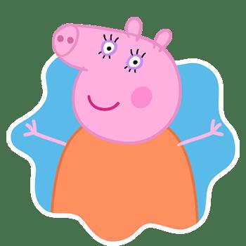 Mamãe Pig, mãe da Peppa