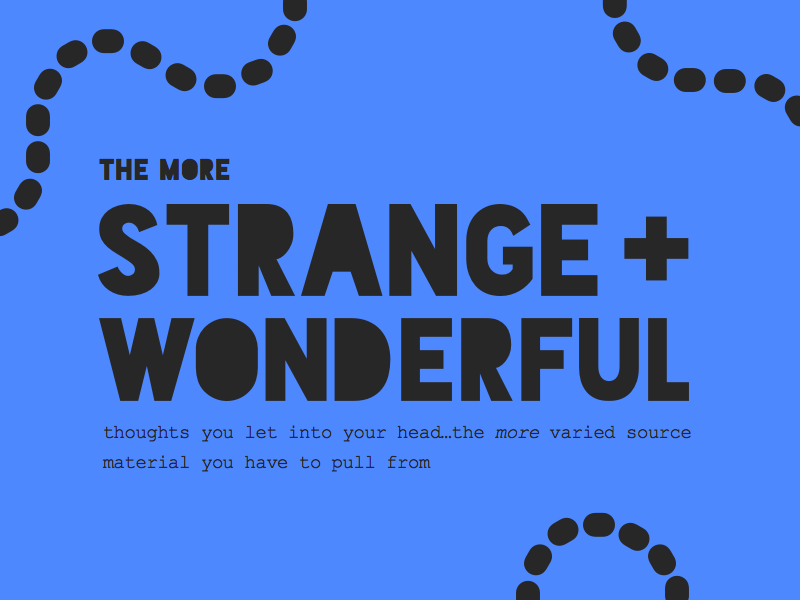strangewonderful