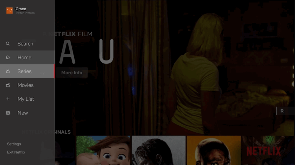 Netflix's new interface