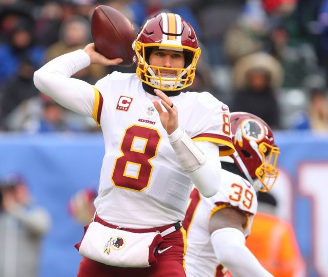Kirk Cousins Of The Washington Redskins Will Be A Free Agent In March Ed