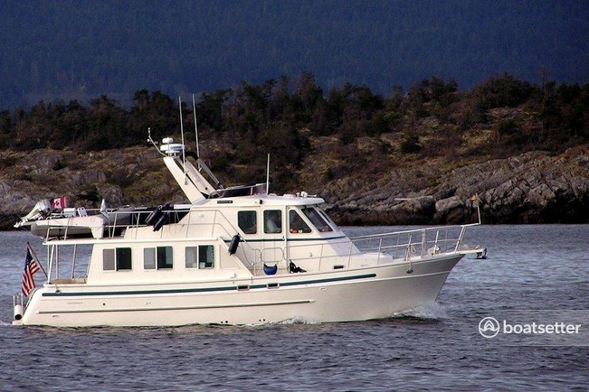 Rent A 2007 43 Ft North Pacific Yachts North Pacific 43