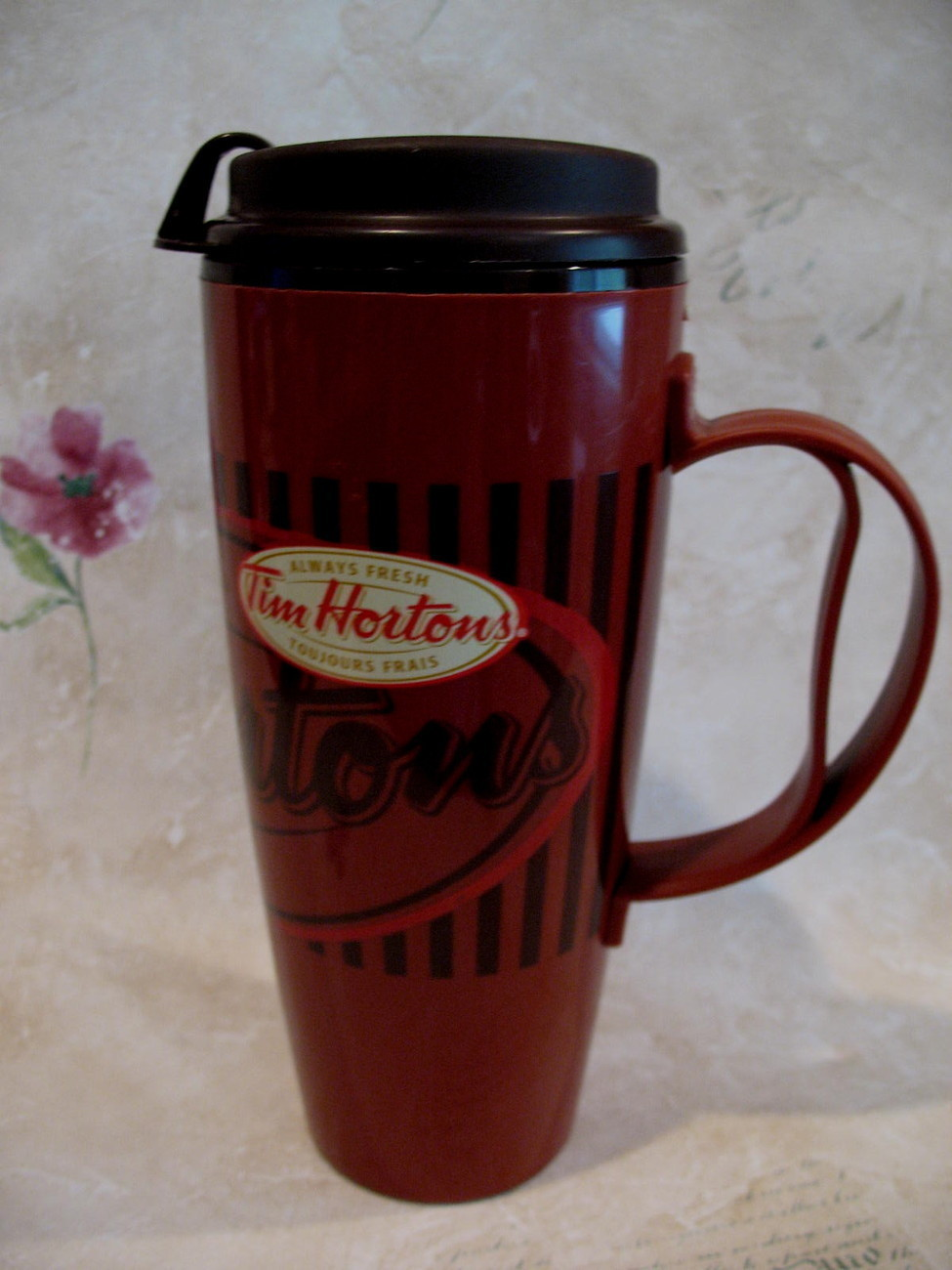 Tim Hortons Coffee Travel Cup Mug Always Fresh Souvenir