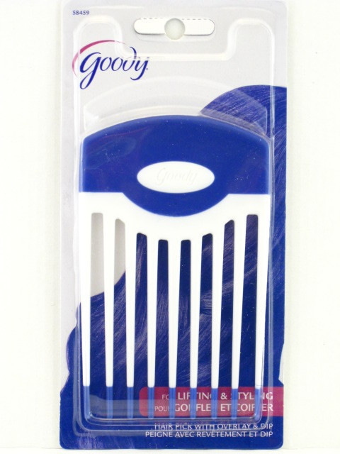 GOODY LARGE LIFT HAIR PICK WITH OVERLAY AND DIP Brushes