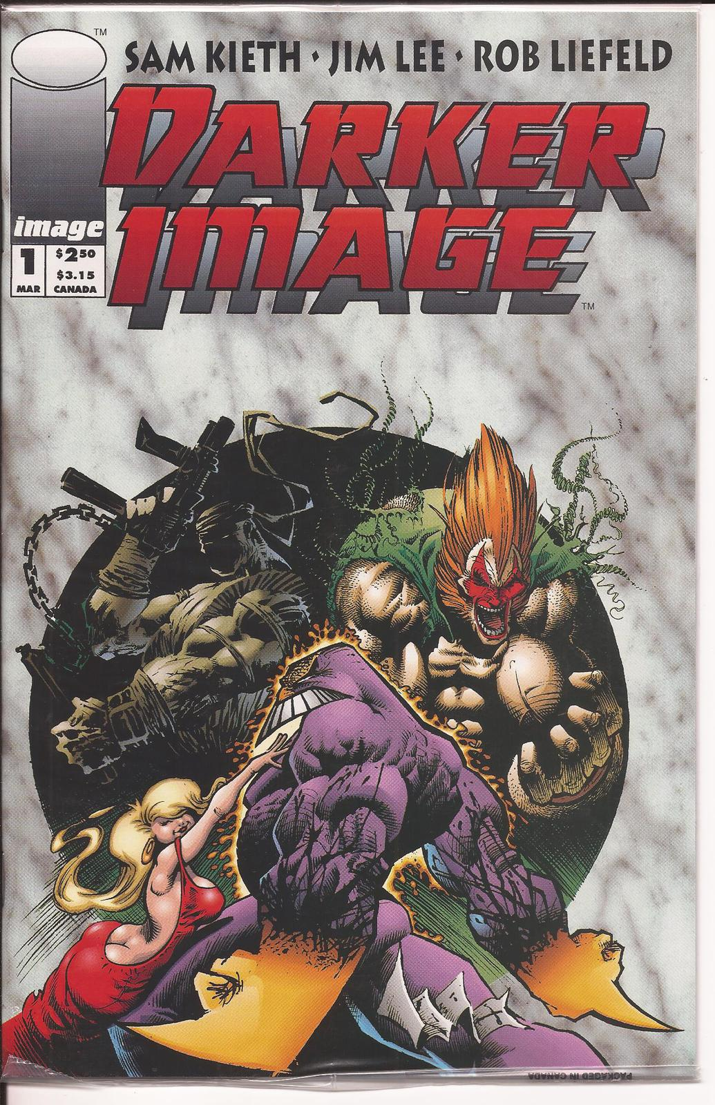 Image Comics Darker Image 1 Sam Keith Jim Lee Rob Liefeld