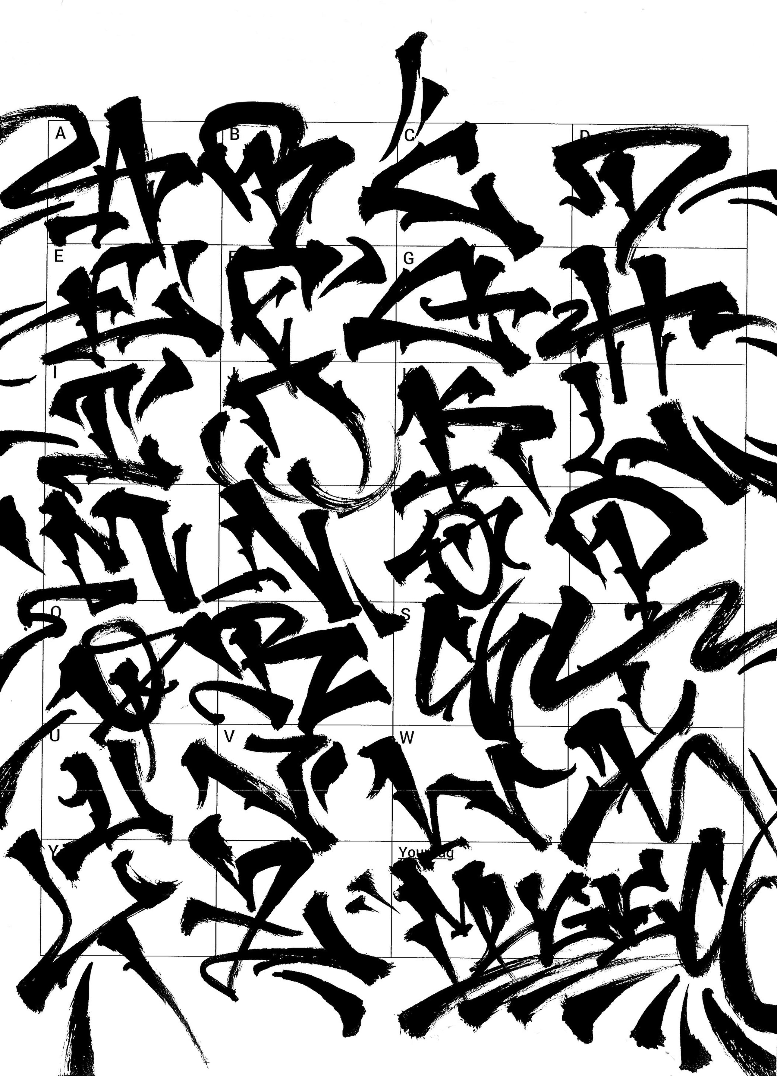 Graffiti Letters 61 Graffiti Artists Share Their Styles