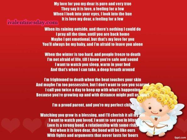 Happy Valentines Day Poems For Him – Valentine\'s Day Info