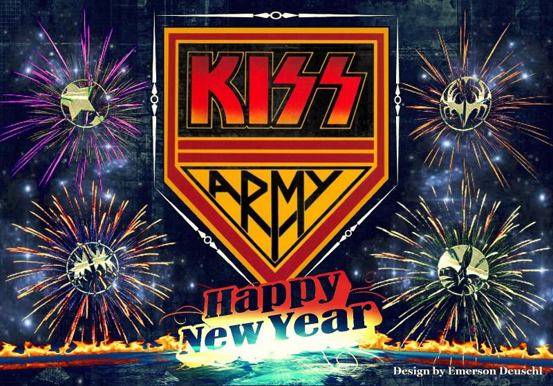 KISS Online    News Fan s KISS New Year s Artwork