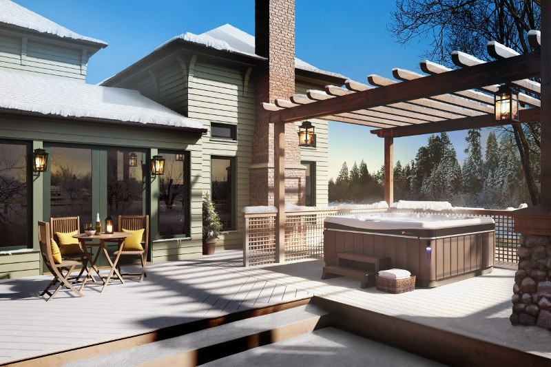 Utopia Series: A Perfect Hot Tub for Nearly Any Backyard ... on Bungalow Backyard Ideas id=40400