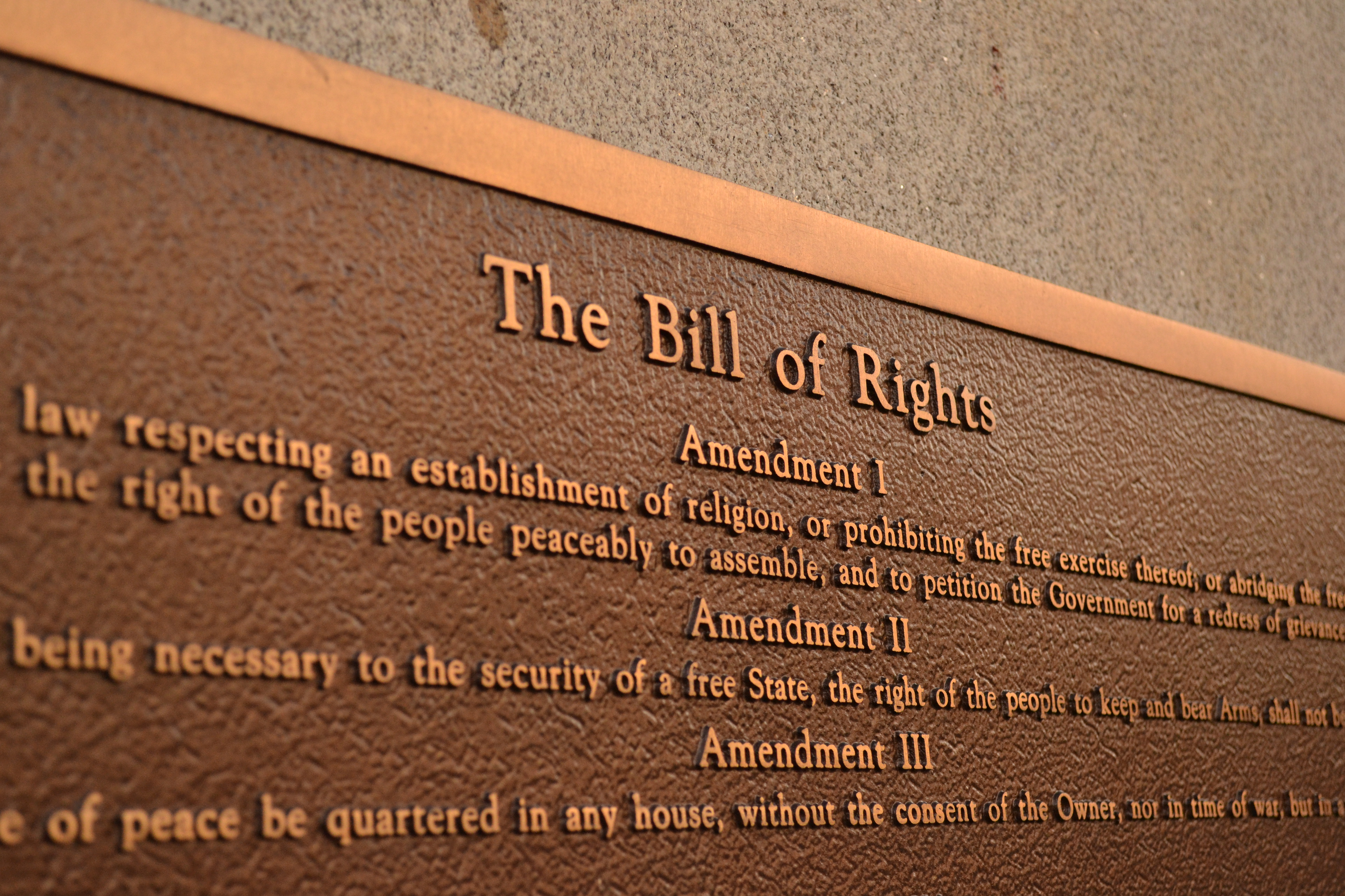 Tar Heel Inaction And The Bill Of Rights