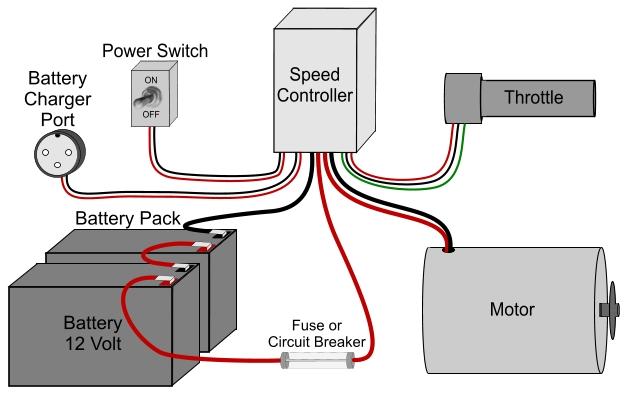 Terminator ES-04 Electric Scooter Wiring Schematic Help