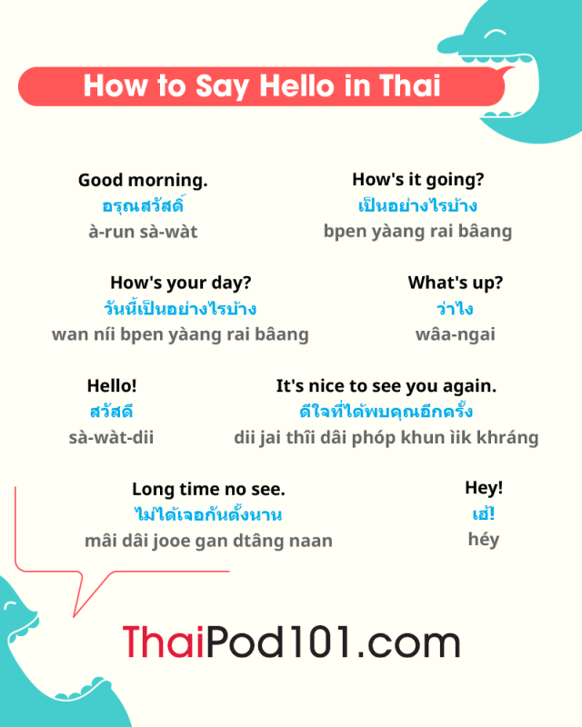 How to Say Hello in Thai: Guide to Thai Greetings