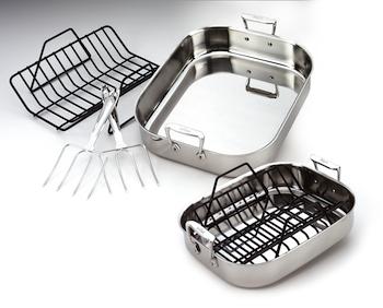 all clad roasting pans roasters