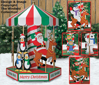 Christmas Carousel Woodworking Plans