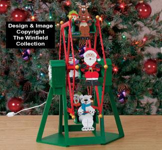 Tabletop Ferris Wheel And Riders Plan