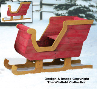 23 Elegant Santa Sleigh Woodworking Plans   smakawy com Perfect Christmas Lawn Sled Design By Jack T LumberJockscom