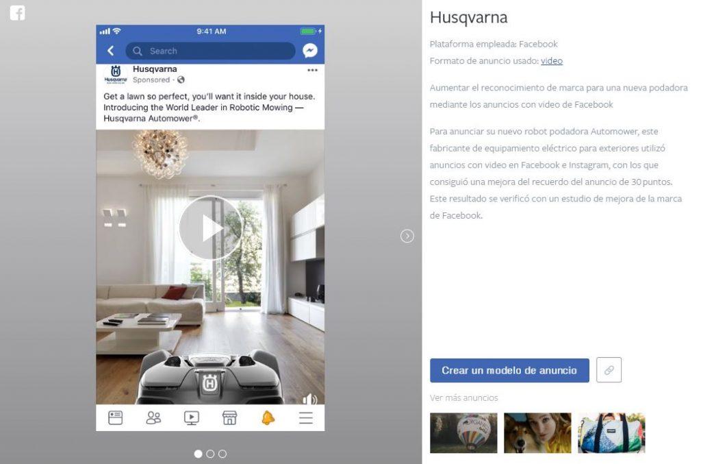 Inspiration, la nueva herramienta de Facebook