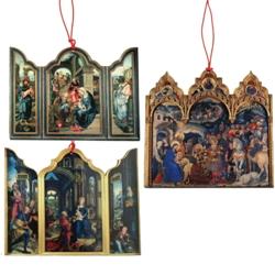Monastery Greetings Adoration Of The Magi Tri Fold 12