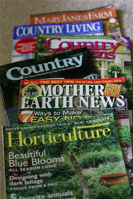 Favorite Gardening Magazines Chiot S Run
