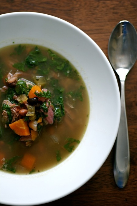 bean_and_cottage_ham_soup