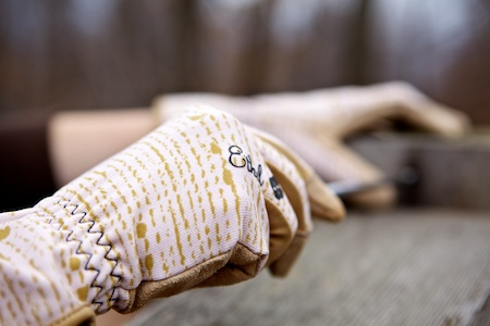 Ladies Garden Gloves Ethel Bamboo Plum Womens Work Gloves Ideal Garden Gift
