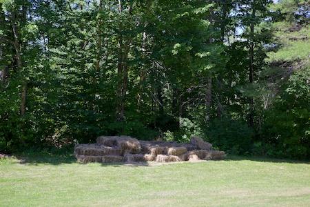 mulch hay 1