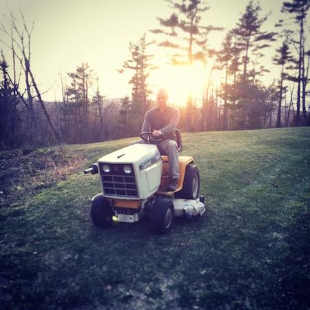 vintage cub cadet garden tractor