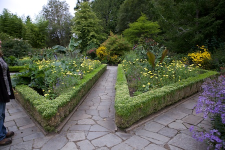 Heronswood formal garden 1