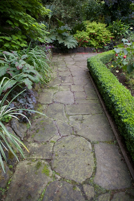 Heronswood formal garden 4