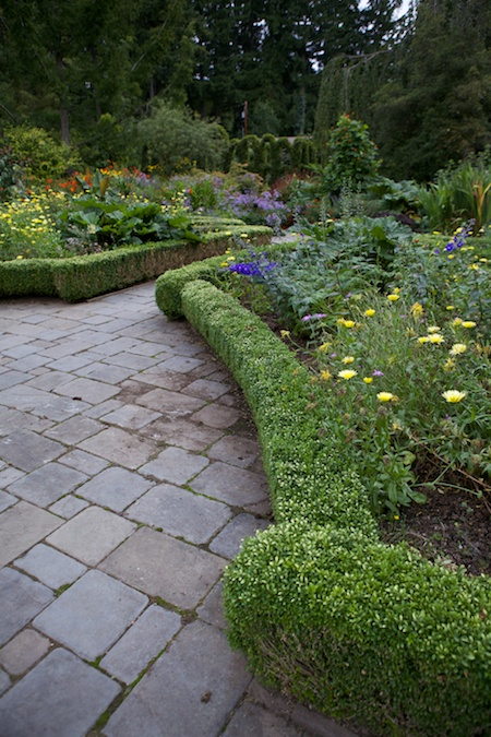 Heronswood formal garden 8