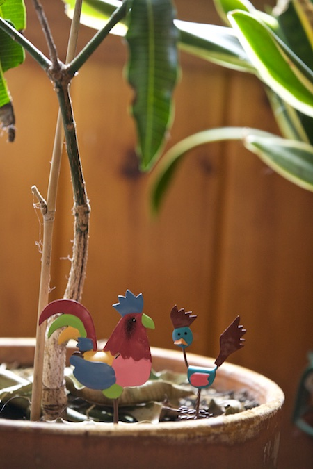 Fairy Gardening folk art 1
