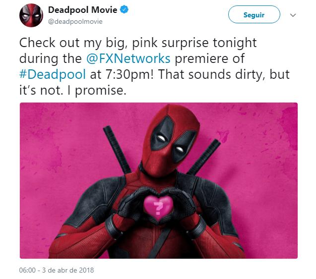 DEAD Deadpool 2   Surpresa é anunciada para hoje