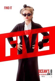 5 Oito Mulheres e um Segredo | Personagens ganham novos pôsteres individuais; Confira!