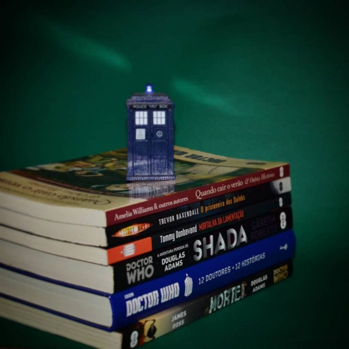 livros_serie_doctor_who-1024x1024 Resenha | Doctor Who – Mortalha da Lamentação de Tommy Donbavand