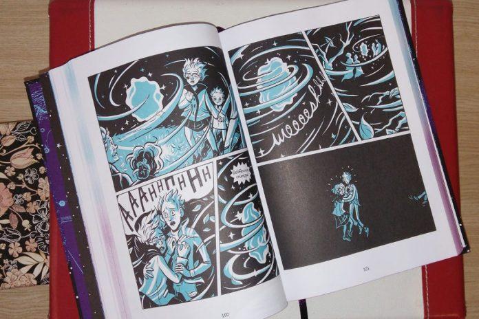 ilustracoes-dobra-no-tempo-graphic-novel-1024x683 Resenha   Uma dobra no tempo, de Madeleine L'Engle