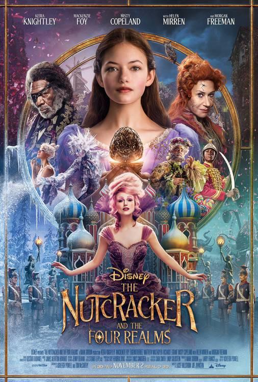nutcracker_poster O Quebra-Nozes  e os Quatro Reinos | Live-action ganha novo trailer