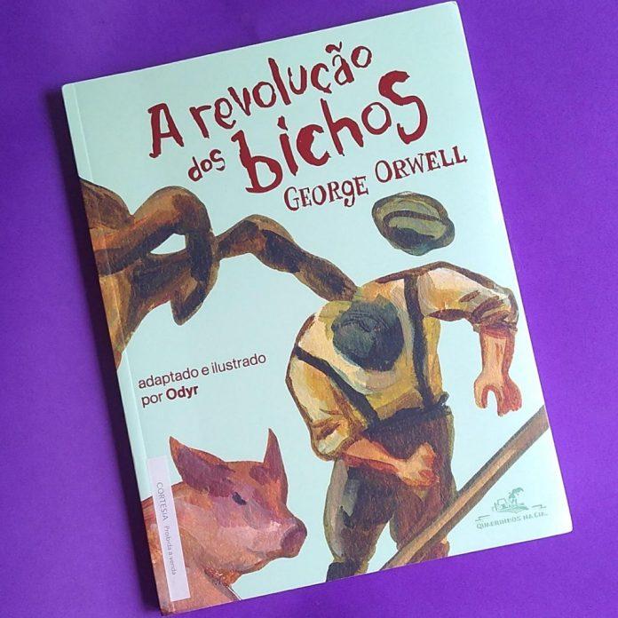 revolucao-dos-bichos-ilustrada-capa-1024x1024 A Revolução dos Bichos ganha versão ilustrada por Odyr