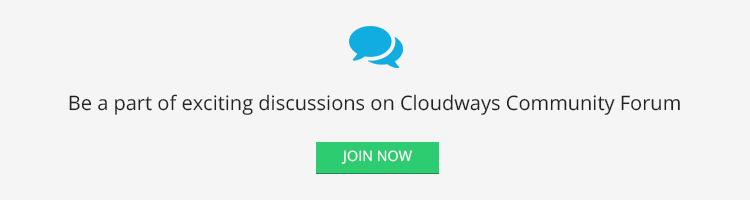 cloudways community1