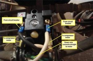 How to Wire a 220 Air Compressor   It Still Runs