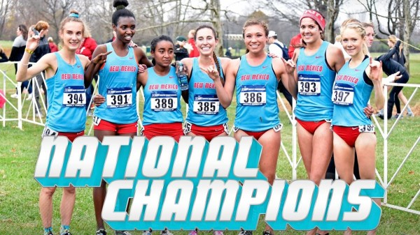 UNM women's cross country team wins 2017 NCAA Title: UNM ...