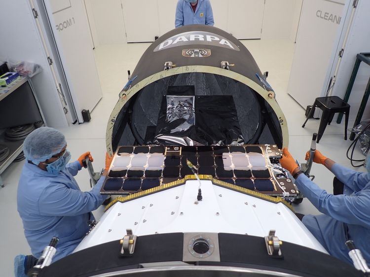 Northrop Grumman Delivers Critical Space Capability for DARPA Mission in Record Time_2