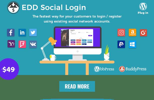 edd social login