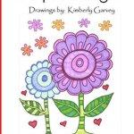 Simple Designs drawings by Kimberly Garvey
