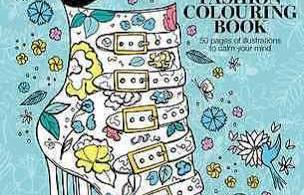 shopping - The Day of the Cat A Colouring Book - Adult Colouring Book Review