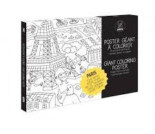 Omy coloring poster - Paris theme