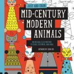 Just Add Color: Mid Century Modern Animals - Jenn Ski