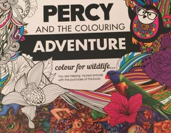 Percy cover - Dream Woods - Adult Coloring Book