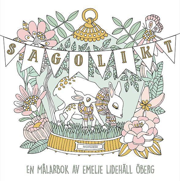 sagolikt coloringbook - Sagolikt (Fabulous) Coloring Book Review