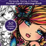 Enchanted Faces - Pocket Sized Coloring Book